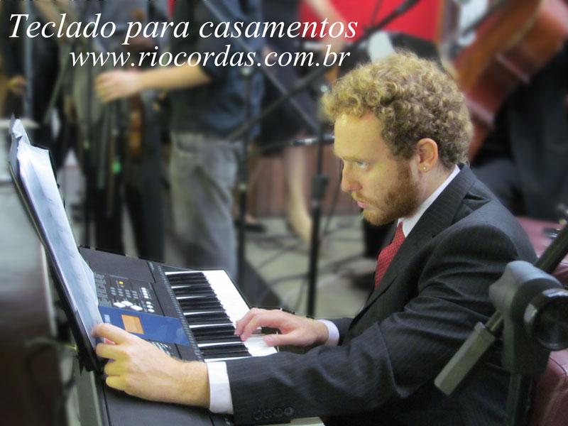 Música para Casamentos e Eventos RJ - teclado